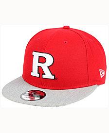 New Era Rutgers Scarlet Knights MB 9FIFTY Snapback Cap
