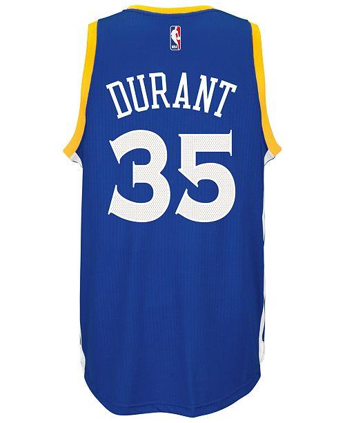 adidas Men's Kevin Durant Golden State Warriors New Swingman Jersey
