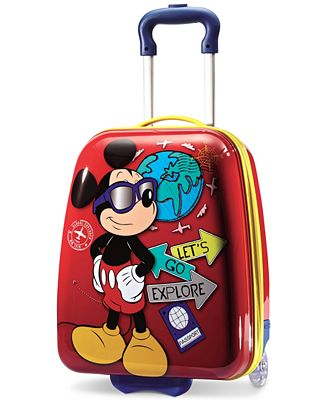 Mickey Mouse Luggage For Kids Mc Luggage