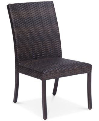 Savannah Outdoor Armless Dining Chair, Created For Macyu0027s