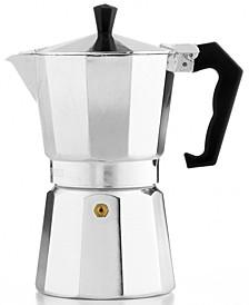 Aluminum 6 Cup Stovetop Espresso Maker
