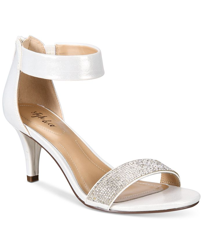 Style & Co - Phillyis Two-Piece Evening Sandals
