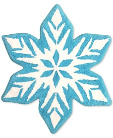 CLOSEOUT! Jay Franco Frozen Snowflake Bath Rug