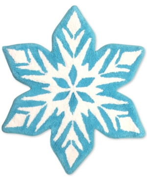 Image of Jay Franco Frozen Snowflake Bath Rug Bedding