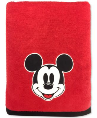 "Big Face Mickey Mouse 27"" x 50"" Bath Towel"