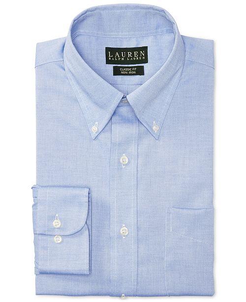 96d66b83 Lauren Ralph Lauren Non-Iron Pinpoint Dress Shirt & Reviews - Dress ...