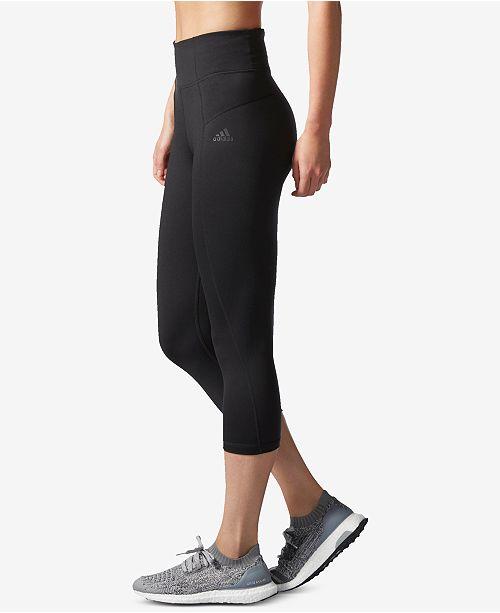 ae953fdb45f51 adidas Performer High-Rise Three Quarter ClimaLite® Leggings - Pants ...