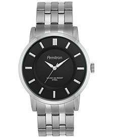 Men's Stainless Steel Bracelet Watch 42mm 20-4962BKSV