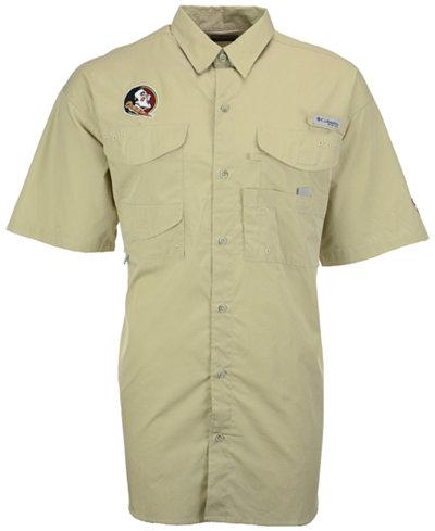 Columbia Men's Florida State Seminoles Bonehead Short Sleeve Shirt