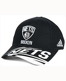 adidas Kids' Brooklyn Nets Layup Adjustable Cap