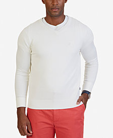 Nautica Men's V-Neck Classic Fit Sweater