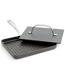 "Lagostina Nera Nonstick 10"" Panini Pan with Press"