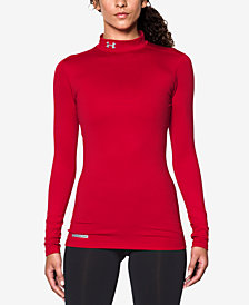 Under Armour ColdGear Mock Neck Top