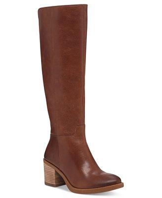 Lucky Brand Women's Ritten Wide-Calf Tall Boots - Boots - Shoes ...