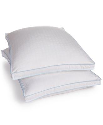 sensorgel cool fusion pillows with cooling gel beads sensoreelle ultra loft memory fiber fill