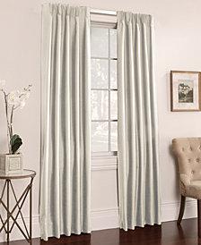 "Miller Curtains Buckingham Antique Satin Pair of 50"" x 84"" Window Panels"