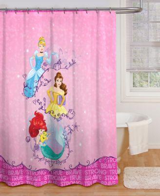 Jay Franco Princess Dream Microfiber Shower Curtain