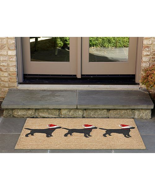 Christmas Runner Rugs.Liora Manne Liora Manne Front Porch Indoor Outdoor 3 Dogs