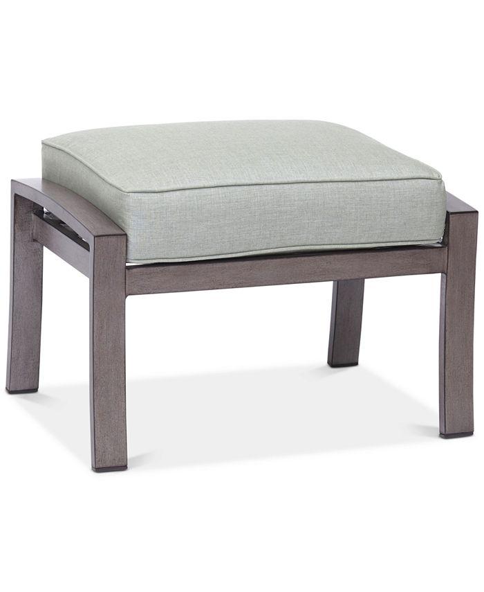 Furniture - Tara Aluminum Outdoor Ottoman