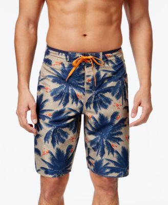 lrg big and tall menu0027s palm tree board shorts