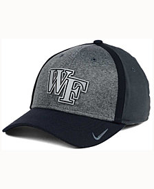 Nike Wake Forest Demon Deacons Heather Stretch Fit Cap