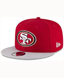 New Era San Francisco 49ers Heather Vize MB 9FIFTY Cap