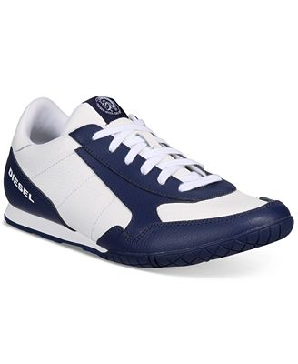 Diesel Men's Claw Action S-Toclaw Leather Sneakers