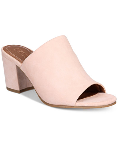Kenneth Cole Reaction Mass-Ter Mind Block Heel Sandals
