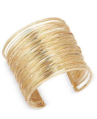 INC International Concepts Wire Wrap Cuff Bracelet, Only at Macy's