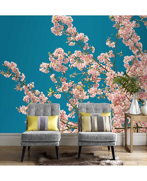 Graham Brown Cherry Blossom Wall Mural Wallpaper