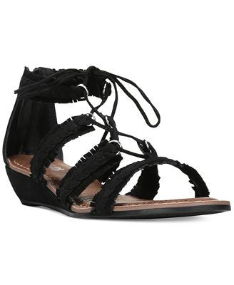 Carlos By Carlos Santana Kenzie Lace-Up Gladiator Sandals