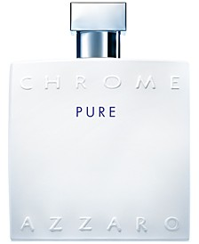 Men's CHROME Pure Eau de Toilette Spray, 3.4 oz