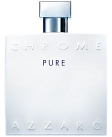 Azzaro Men's CHROME Pure Eau de Toilette Spray, 3.4 oz