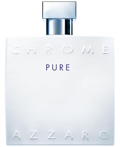 Azzaro Men's CHROME Pure Eau de Toilette Spray, 3.4 oz