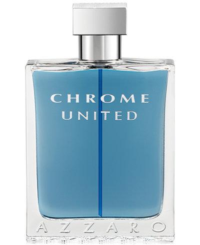 Azzaro Men's CHROME UNITED Eau de Toilette Spray, 3.4 oz
