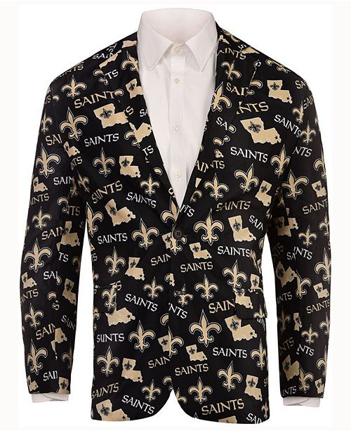 18839ac7 Forever Collectibles Men's New Orleans Saints Fan Suit Jacket ...