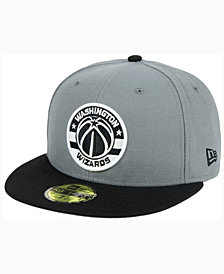 New Era Washington Wizards 2-Tone Gray Black 59FIFTY Cap