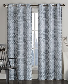 Victoria Classics Andreaston Grommet Window Panel Pairs