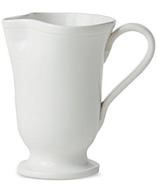 Viva by Vietri  Fresh Collection Large Footed Pitcher