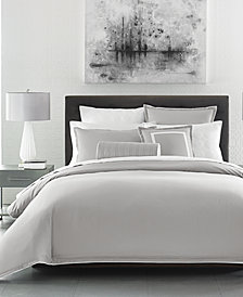 Hotel Collection Contrast Flange King Duvet Cover, Created for Macy's