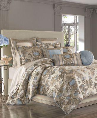 Jordyn Olivia Queen 4-Pc. Comforter Set