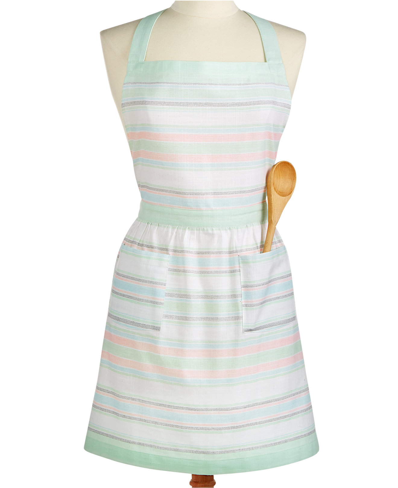 White apron macy's - Martha Stewart Collection Pastel Striped Apron Only At Macy S