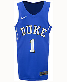 Nike Duke Blue Devils Replica Basketball Jersey, Big Boys (8-20) #1