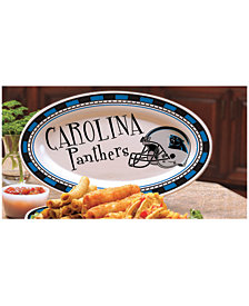 Memory Company Carolina Panthers Ceramic Platter