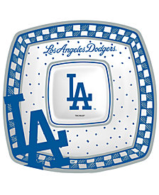 Memory Company MLB Gameday Ceramic Chip & Dip Plate