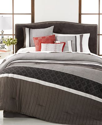 Closeout Meridian Reversible 7 Pc Comforter Sets Bed In A Bag