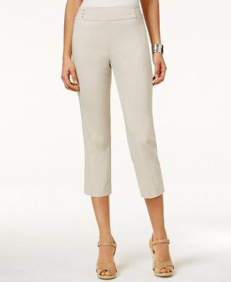 Wonderful Pinstripe Capri Pants For Women 2705T  Save 56