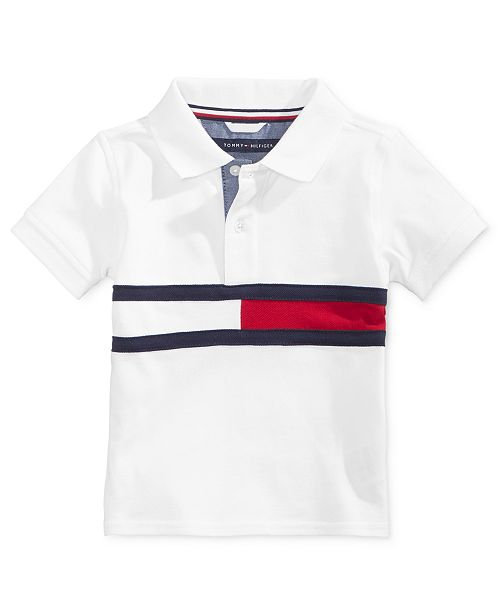 6c879f825 Tommy Hilfiger Baby Boys Flag Polo Shirt   Reviews - Shirts   Tees ...