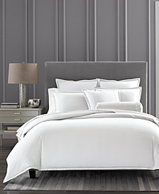 CLOSEOUT! Hotel Collection Cotton Ladder Stitch Pique Full/Queen Duvet Cover, Created for Macy's
