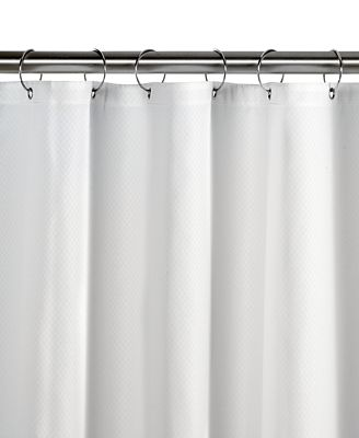 Charter Club Diamond Fabric Shower Curtain Liner, Created for Macy's